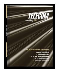 Capa Anuário Telecom 2012
